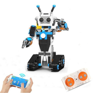 Technic Robot Boost Science and Education Dual Remote Control Programmable Educational Toy Intelligent Program Building Blocks