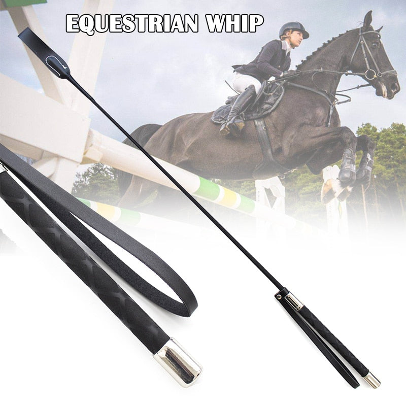 50/70cm Riding Crop Horse Whip PU Leather Horsewhips Lightweight Riding Whips Lash Sex Toy Horse Riding Sports Accessories