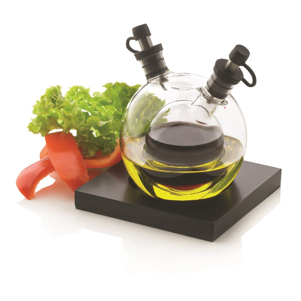 Orbit oil & vinegar set, black