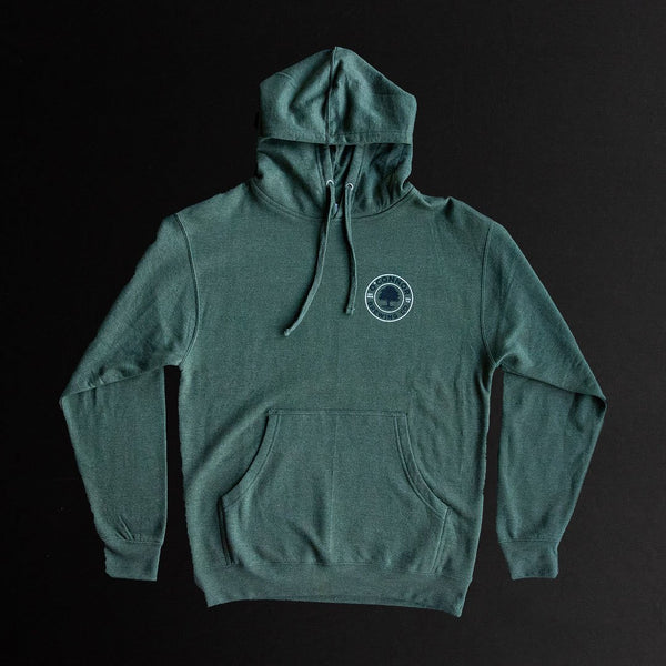 Pullover Hoodie - Green w/ Logo