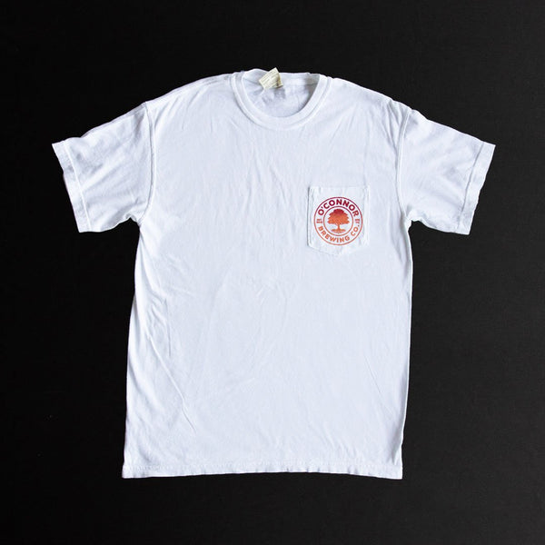 TShirt - White Pocket T w/ Skyline