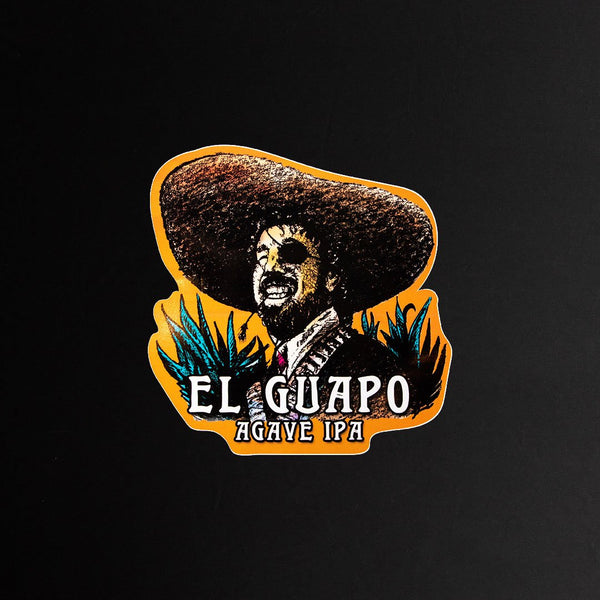 Sticker - El Guapo 5""