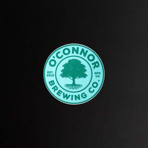 Sticker - Teal/Green Logo 3""