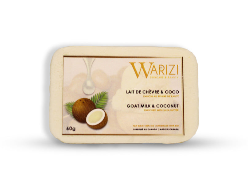 Coconut goat's milk soap