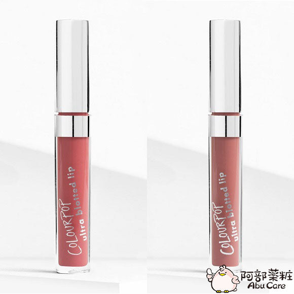 COLOURPOP ultra blotted lip 啞光唇釉