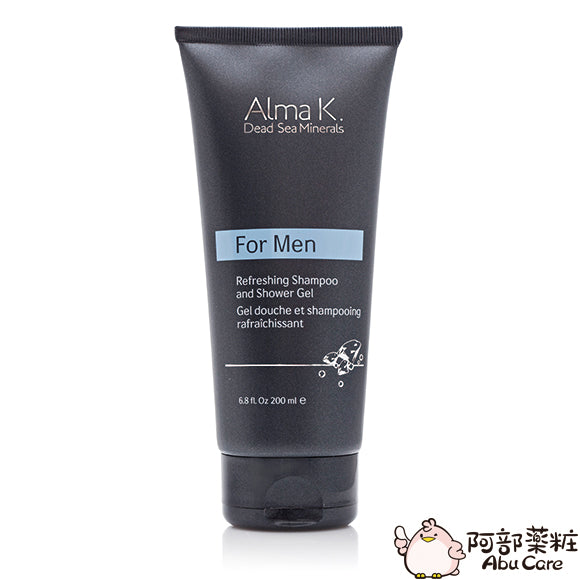 Alma K. Refreshing Shampoo and Shower Gel 洗髮沐浴二合一