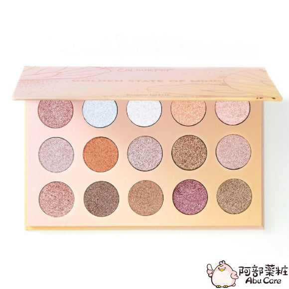 COLOURPOP 15色眼影盤—GOLDEN STATE OF MIND