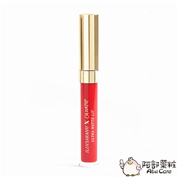 COLOURPOP LIQUID LIPSTICK 啞光唇釉—ARRIBA!