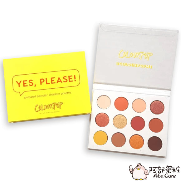 COLOURPOP 12色眼影盤—Yes Please