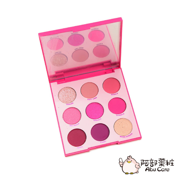 COLOURPOP  OOH LA LA! 9色眼影盤