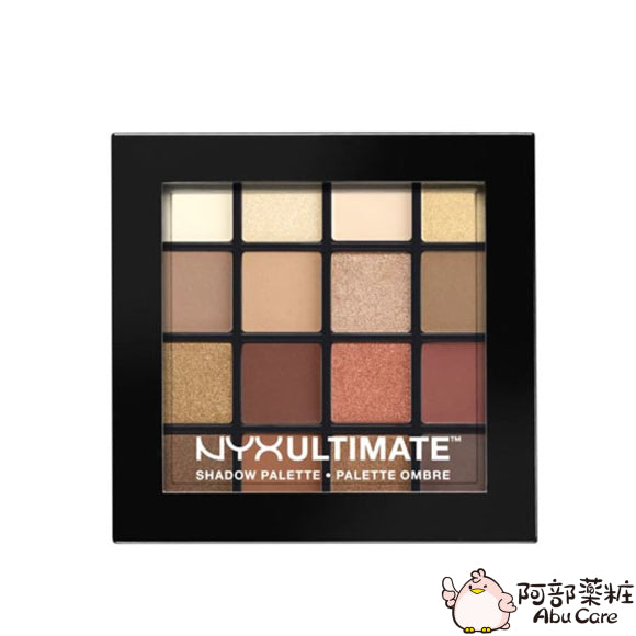 NYX Ultimate Shadow Palette 終極煥彩16色眼影盤