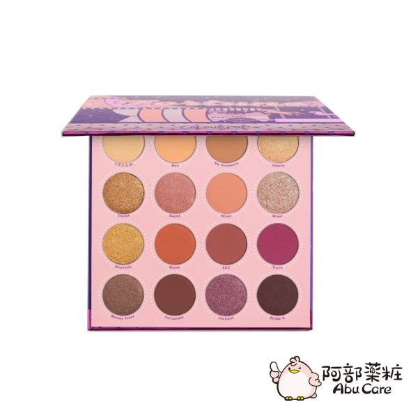 COLOURPOP Fortune 週年限定16色眼影盤