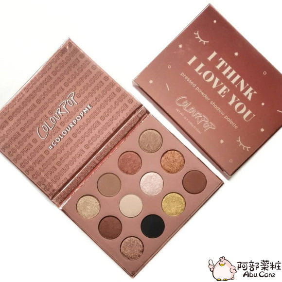 COLOURPOP 12色眼影盤—I THINK I LOVE YOU