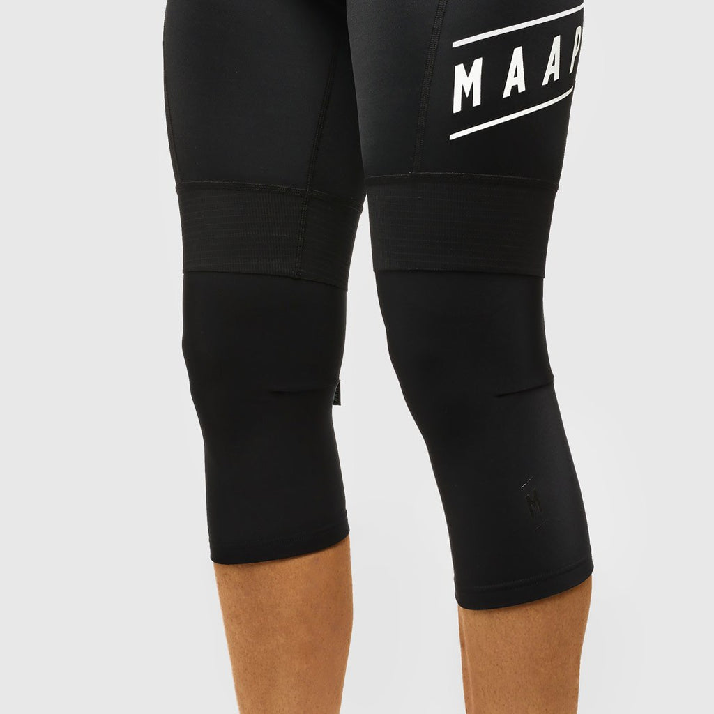 Team Knee Warmers Black