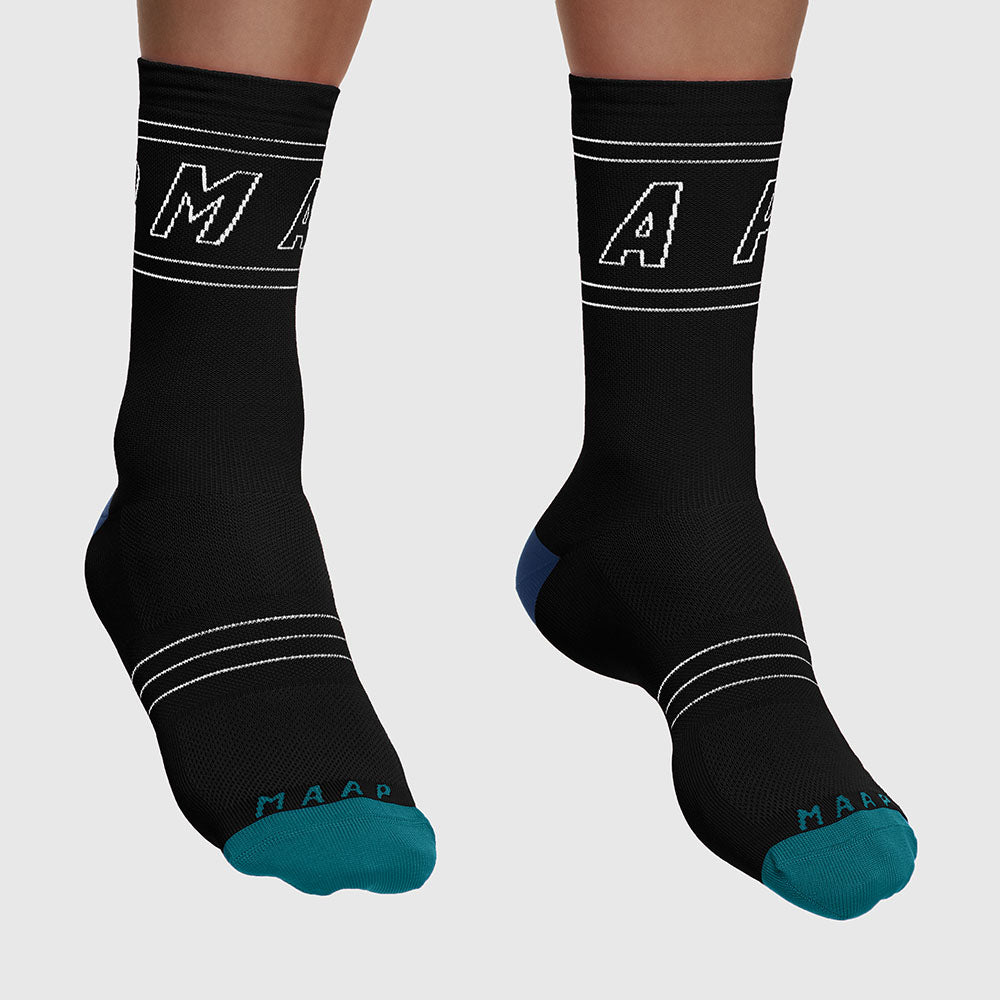 Outline Sock - Black