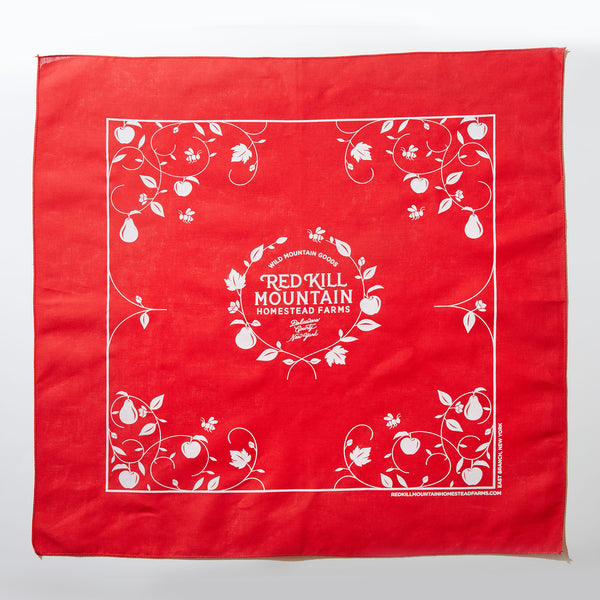 THE OFFICIAL RED KILL MOUNTAIN BANDANA