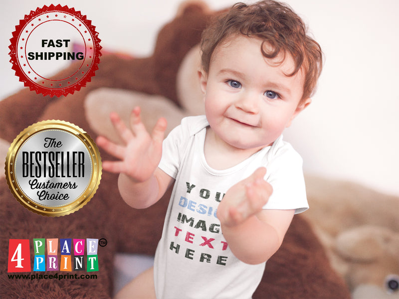 Custom Baby & Infant T-Shirts, Rompers & Onesies – Design Online at Place4Print
