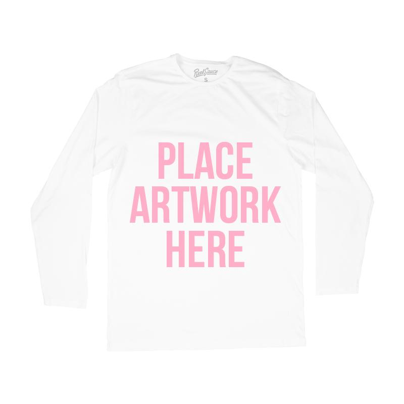 Custom Long Sleeve T-shirts - Make Your Own Tee Shirt Design here - Customized