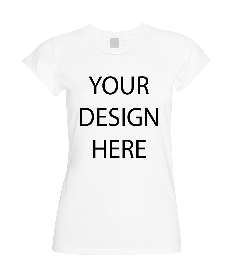 Custom Womens Shirt - Choose Your Font and Font Color, Custom Womens TShirt, Custom Ladies Shirt, Woman Tshirt, Womens Shirt Personalized