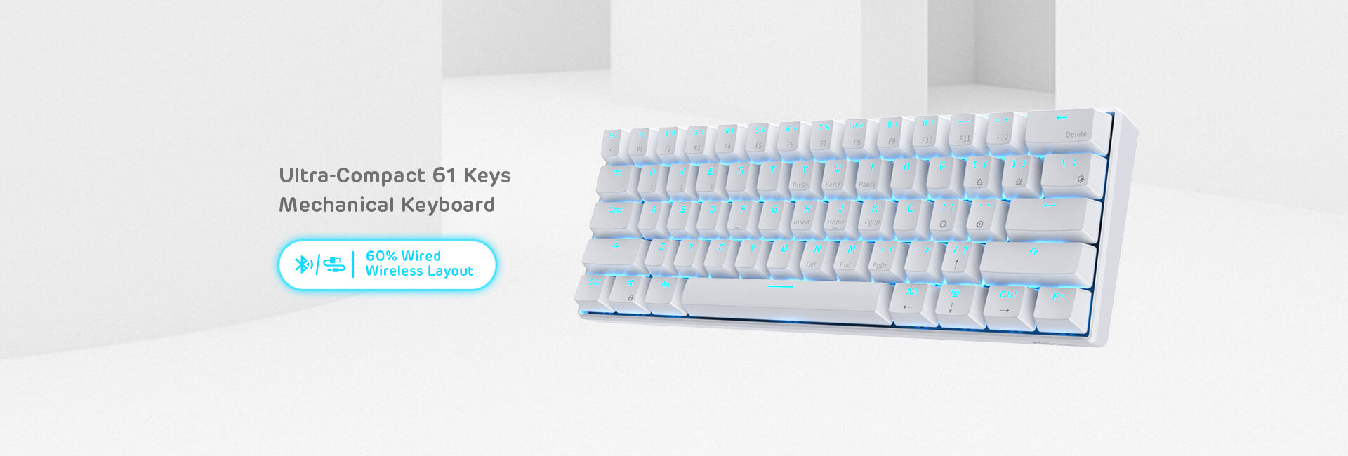 RK61 60 hot swappable keyboard