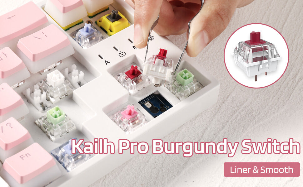 Kailh Pro Switch Burgundy
