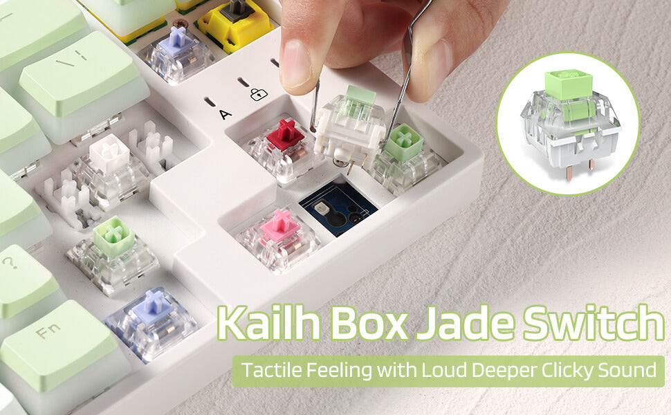 Kailh  Box Switches Jade for Mechanical Gaming Keyboard