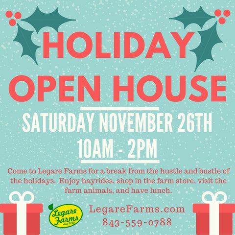 Legare Farms Holiday Open House