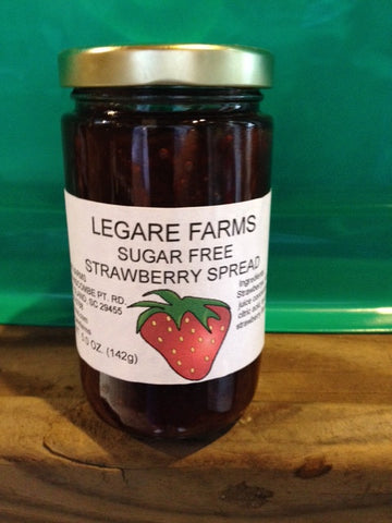 Strawberry Spread Sugar Free