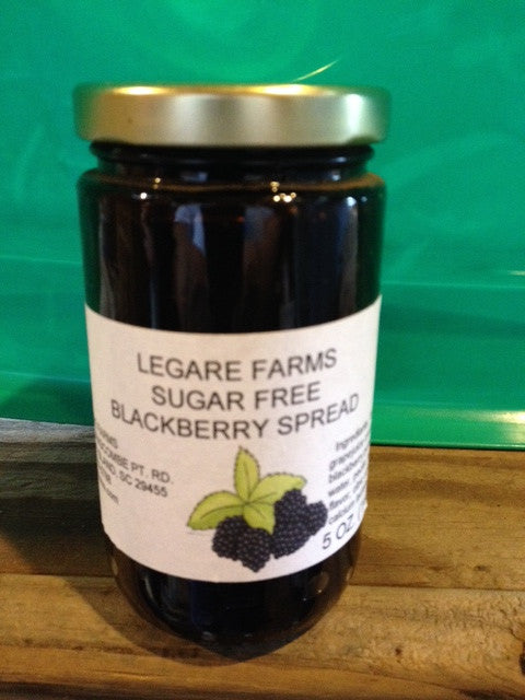 Blackberry Spread Sugar Free