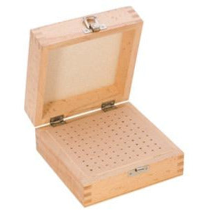 100-Hole Wooden Box