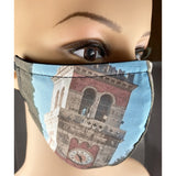 Handsewn Face Mask with Filter Pocket & Bendable Nose Wire - Aviano Italy - 5 Sizes