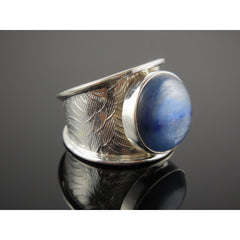 Kyanite Sterling Silver Ring - Size 8