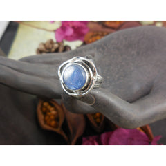 Kyanite Sterling Silver Ring - Size 7.75