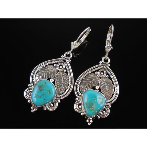 Turquoise Sterling Silver Earrings
