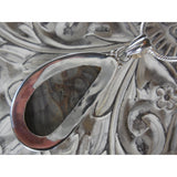 Crazy Lace Agate Sterling Silver Pendant/Necklace