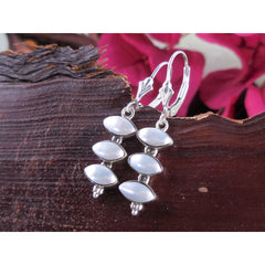Freshwater Pearl Sterling Silver Earrings