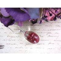 Lodolite Quartz .925 Sterling Silver Pendant/Necklace