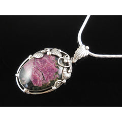 Eudialyte Sterling Silver Pendant/Necklace