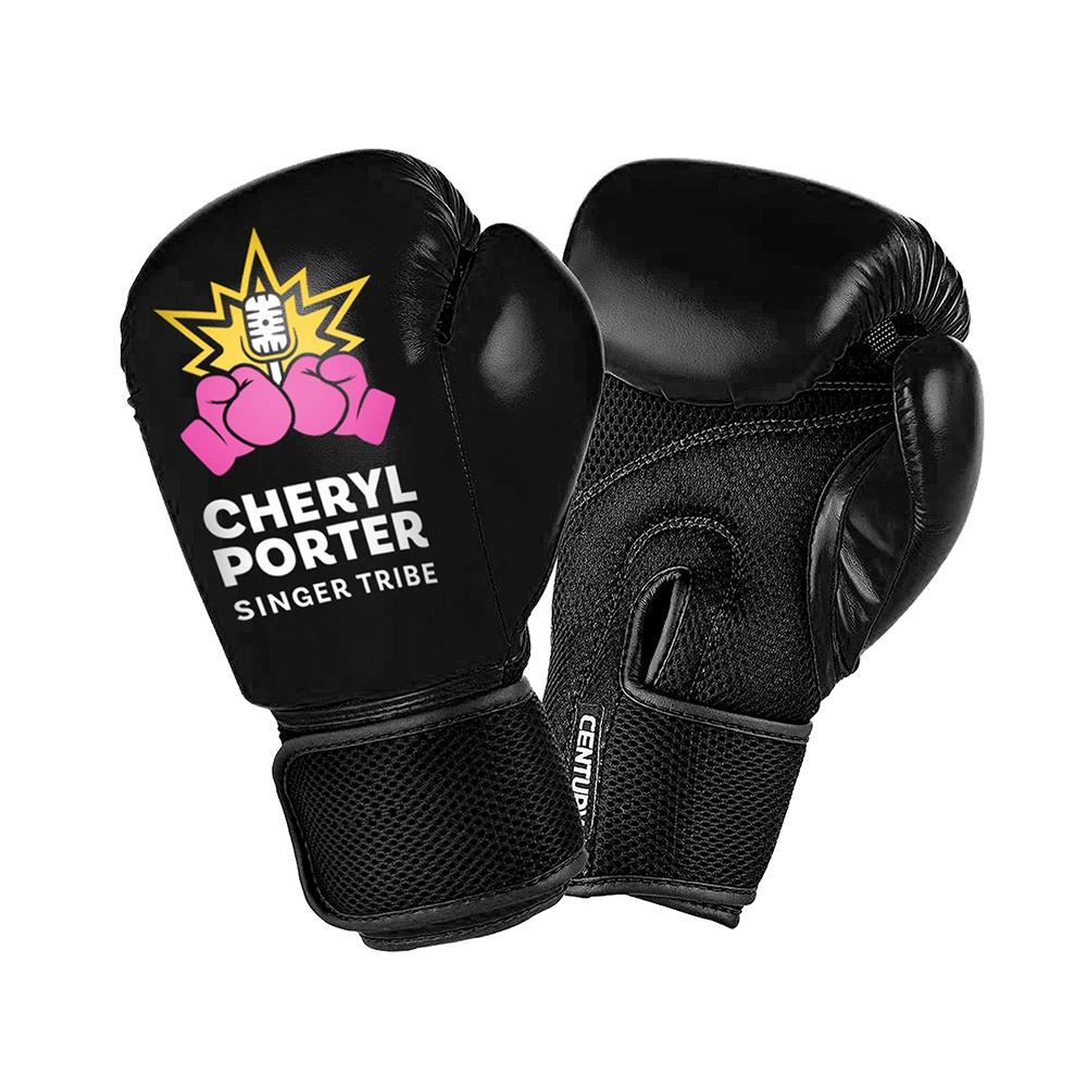 Singer Tribe Boxing Gloves - BLACK