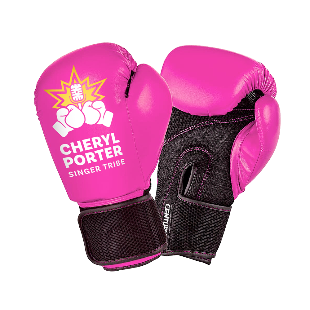 Singer Tribe Boxing Gloves - PINK