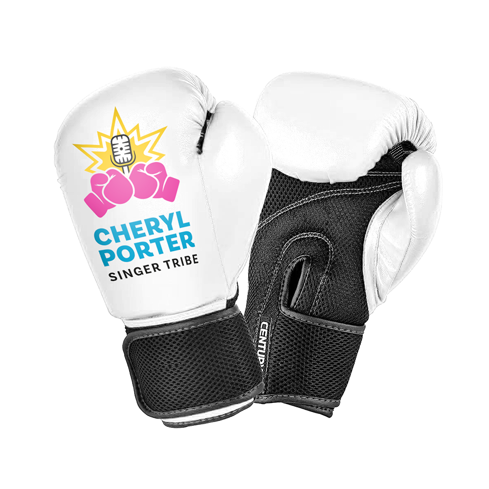Singer Tribe Boxing Gloves - WHITE