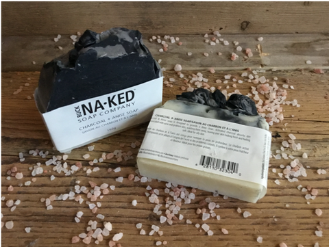 Anise + Charcoal Soap