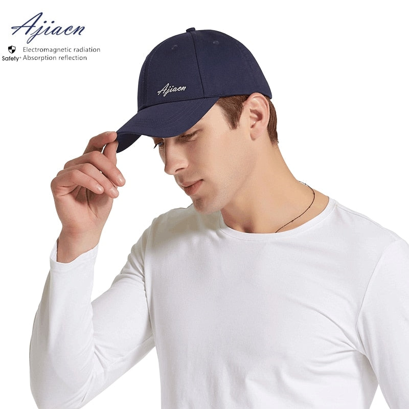 Premium electromagnetic radiation protective dad cap