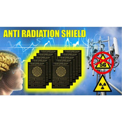 5G RADIATION NEUTRALIZING STICKERS  (10 pieces)