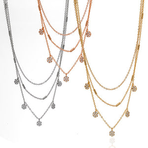 3 Tier Chime Necklace