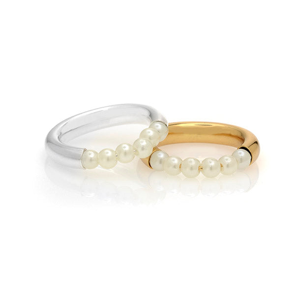 Pearl Drip Ring