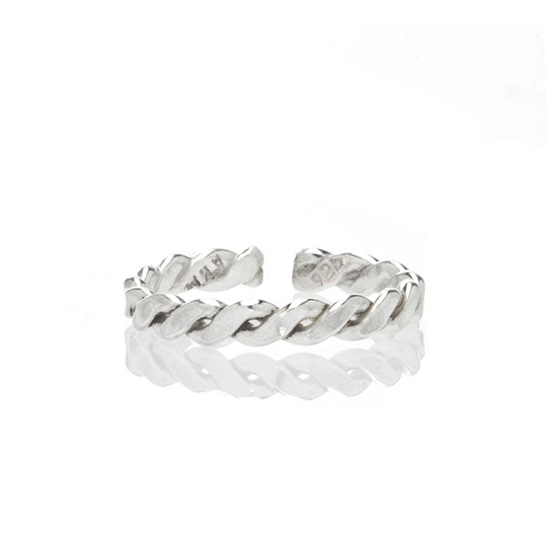 Braided Midi Ring