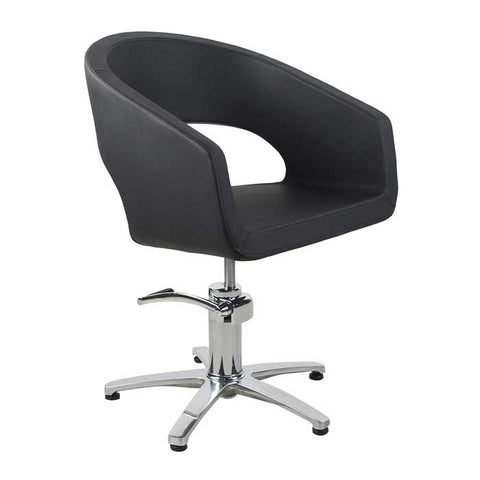 Plaza Styling Chair Black with 5 Star Base