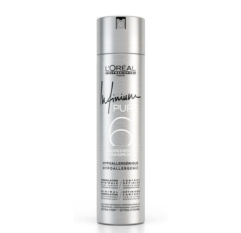 L'OREAL PROFESSIONNEL INFINIUM PURE 6 HAIRSPRAY STRONG 500ML