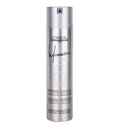 L'ORÉAL PROFESSIONNEL INFINIUM PURE 6 HAIRSPRAY EXTRA STRONG 500ML